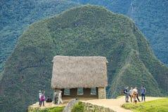 Machu Picchu Pérou image stock
