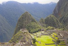 Machu Picchu, Pérou. Photos stock
