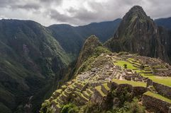 Machu Picchu Pérou Photographie stock