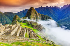 Machu Picchu, Pérou photo stock