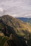 Machu Picchu Pérou, picchu de huayna Images stock