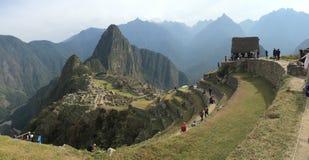 Machu picchu panorama Obraz Stock