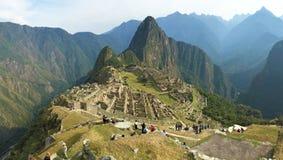 Machu picchu panorama Zdjęcia Royalty Free