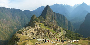 Machu picchu panorama Zdjęcie Stock