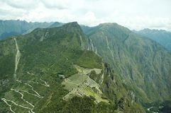 machu picchu panorama city Obraz Stock