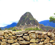 Machu Picchu panorama overview. Peru Stock Photography