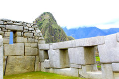 Machu Picchu panorama overview. Peru Royalty Free Stock Image