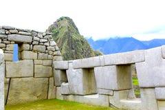 Machu Picchu panorama overview. Peru Royalty Free Stock Image