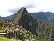 Machu Picchu Peak Royalty Free Stock Images