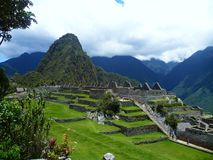 Machu Picchu, Perú Стоковые Изображения RF