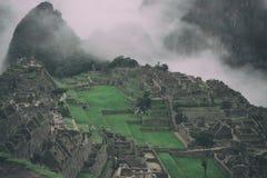 Machu Picchu, Perù Immagine Stock Libera da Diritti