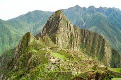 Machu Picchu, Perù Fotografia Stock Libera da Diritti