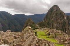 Machu Picchu Perù Fotografia Stock Libera da Diritti