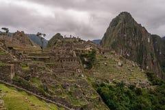 Machu Picchu Perù Immagini Stock