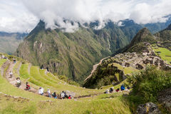 Machu Picchu Perù Fotografie Stock Libere da Diritti