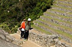 Machu Picchu, Perù fotografie stock
