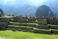 Machu Picchu- Perù Fotografie Stock