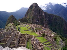 Machu Picchu, Perù Fotografia Stock