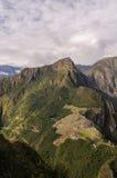 Machu Picchu Perù, picchu di huayna Fotografia Stock