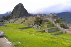 Machu Picchu, Perú. Foto de archivo