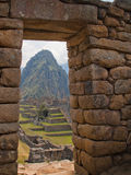 Machu Picchu (Perú) Foto de archivo libre de regalías