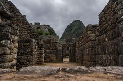 Machu Picchu Perú imagen de archivo