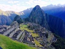 Machu Picchu Perú Imágenes de archivo libres de regalías