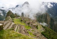 Machu Picchu Perú fotografía de archivo