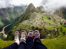 Machu Picchu, Perú Fotos de archivo