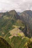 Machu Picchu Perú, picchu del huayna imagen de archivo libre de regalías