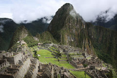 Machu Picchu in Peru Royalty Free Stock Photos