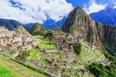 Machu Picchu, Peru lizenzfreie stockfotos