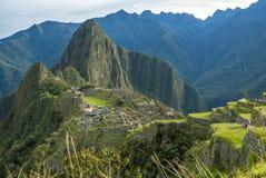 Machu Picchu Peru lizenzfreies stockfoto