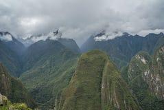 Machu Picchu Peru stockbild