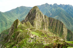 Machu Picchu, Peru. Machu Picchu, The Lost City of the Incas, Peru Royalty Free Stock Photography