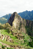 Machu Picchu, Peru. Machu Picchu, The Lost City of the Incas, Peru Stock Image