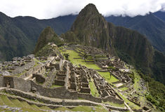 Machu Picchu - Peru. The Inca citadel of Machu Picchu in Peru Royalty Free Stock Images