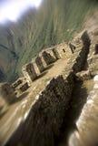 Machu Picchu- Peru imagem de stock