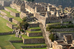 Machu Picchu (Peru). Ancient city of Machu Picchu (Peru Royalty Free Stock Image