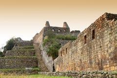 Machu Picchu (Peru) royalty-vrije stock afbeelding