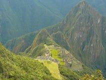 Machu Picchu, Peru. Stock Afbeeldingen