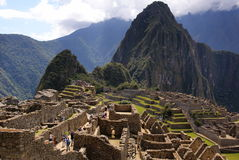 Machu Picchu, Peru Royalty Free Stock Photos