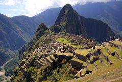 Machu Picchu, Peru Royalty Free Stock Photo