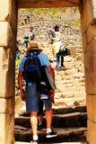 Machu Picchu Peru Fotografering för Bildbyråer