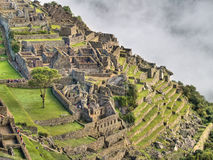Machu Picchu (Peru). Ancient city of Machu Picchu (Peru Stock Photo