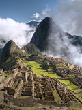 Machu Picchu (Peru). Ancient city of Machu Picchu (Peru Royalty Free Stock Photography