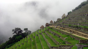 Machu Picchu, Peru. Machu Picchu Inca ruins in the clouds, Peru, South America Stock Images