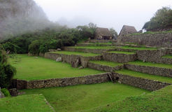 Machu Picchu, Peru. Inca ruins in the clouds at Machu Picchu, Peru, South America Stock Photo