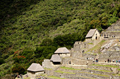 Machu Picchu, Peru Stockfotos