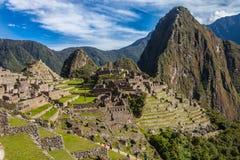 Machu Picchu, Peru Foto de Stock Royalty Free